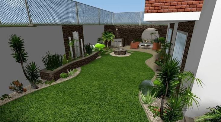 تنسيق حدائق في العين
