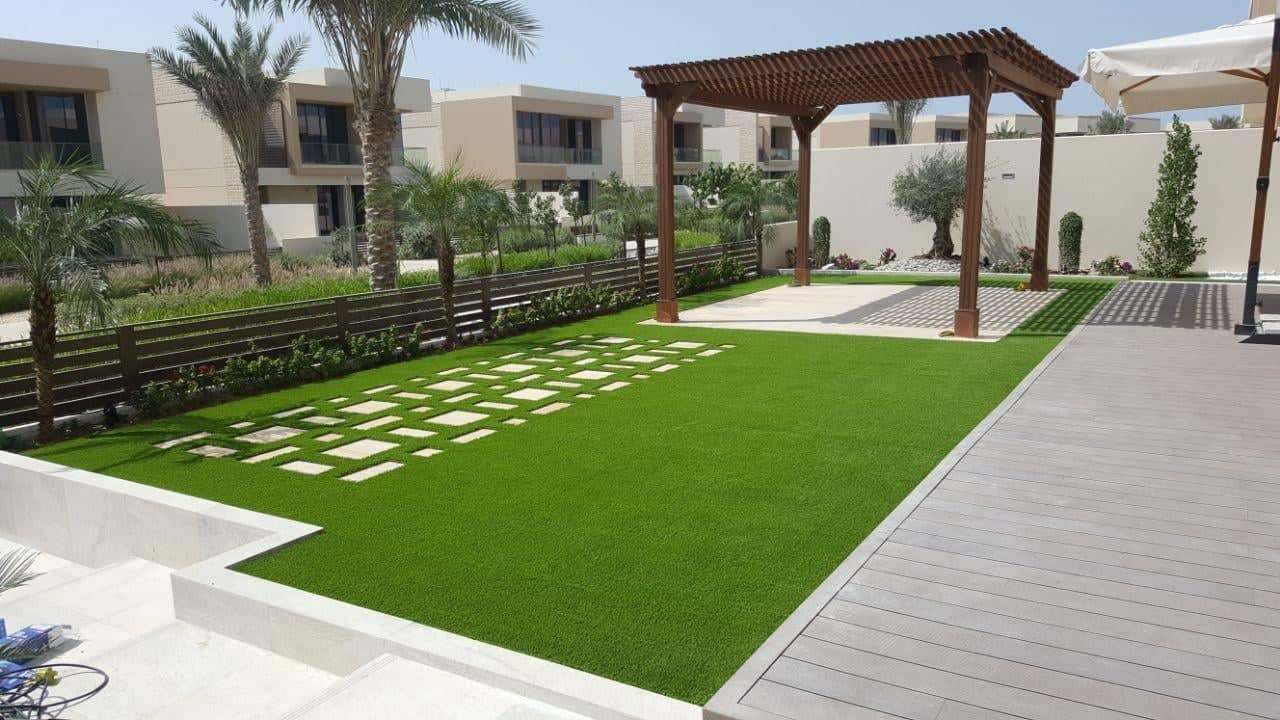 تصميم وتنفيذ حدائق الشارقة